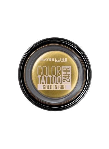 Maybelline Maybelline New York Color Tattoo 24HR Krem Göz Farı -  200 Golden Girl- Altın Sarısı Altın
